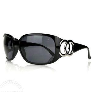 Chanel CC Sunglasses Black